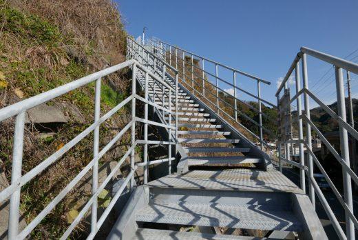 津波避難階段